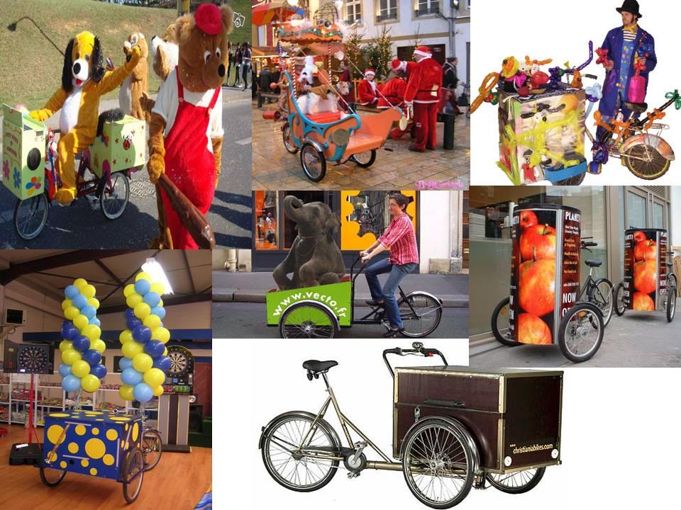 Alquiler triciclos comerciales