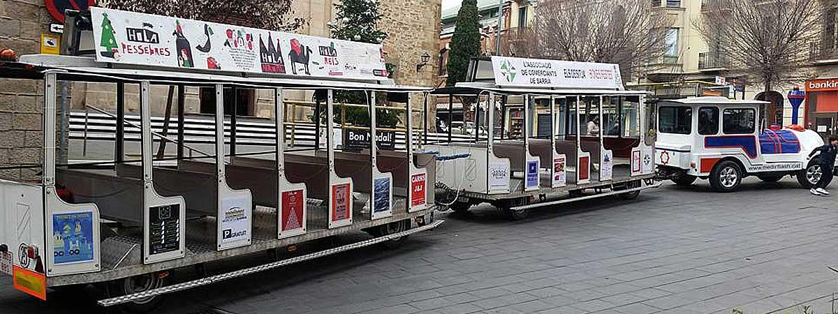Alquiler tren turístico